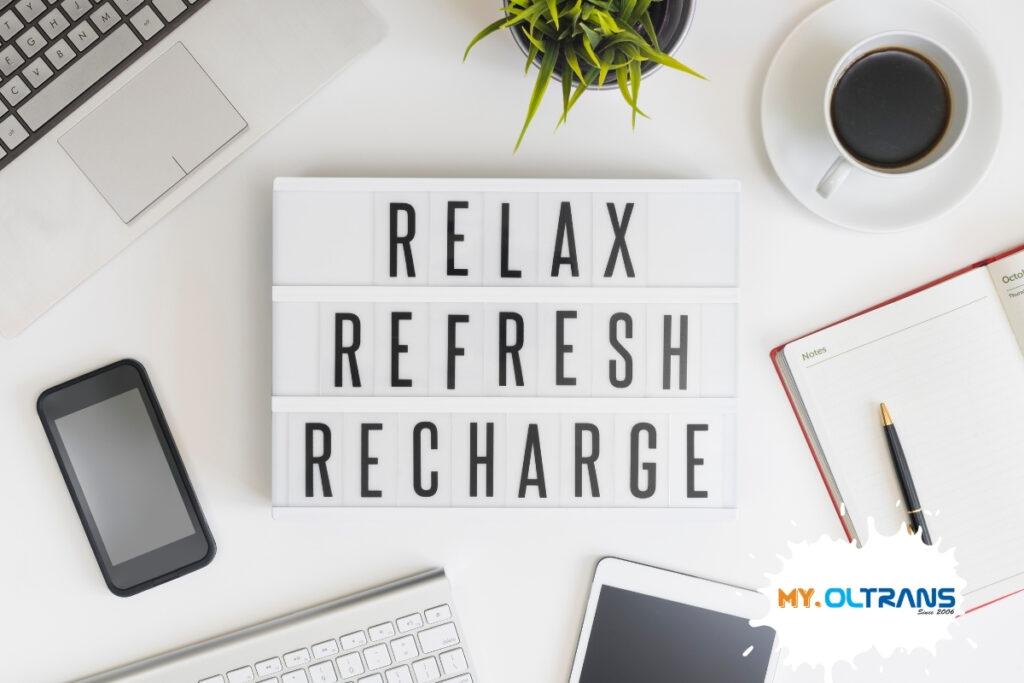 Как да си осигурите спокойствие през времето за почивка