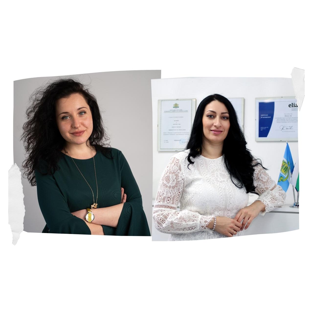 Надя Рангелова и Николета Георгиева